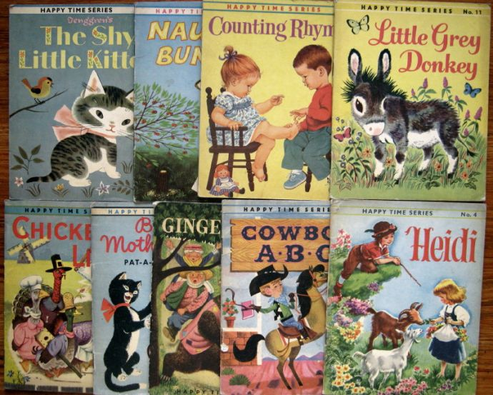 HAPPY TIME SERIES, BOOKS 2, 3, 4, 5, 7, 8, 10, 11, 25, 1962